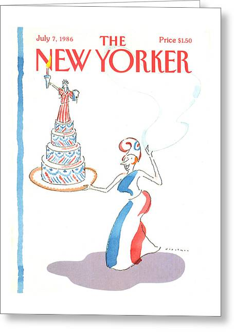 New Yorker July 7th, 1986 Greeting Card