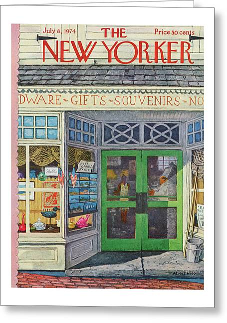 New Yorker July 8th, 1974 Greeting Card