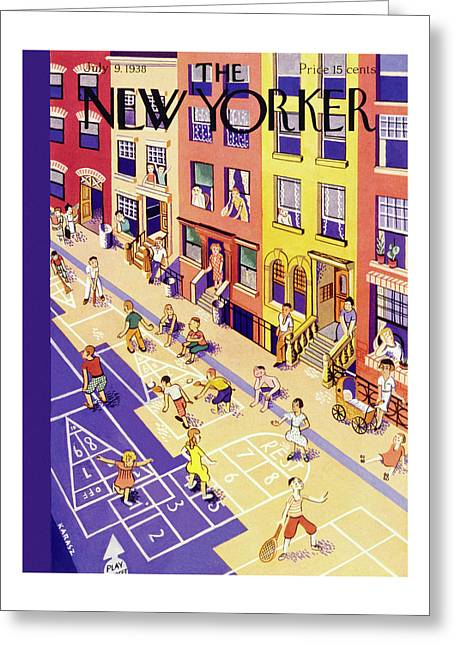 New Yorker July 9 1938 Greeting Card