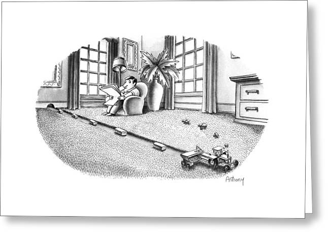 New Yorker July 9th, 1990 Greeting Card