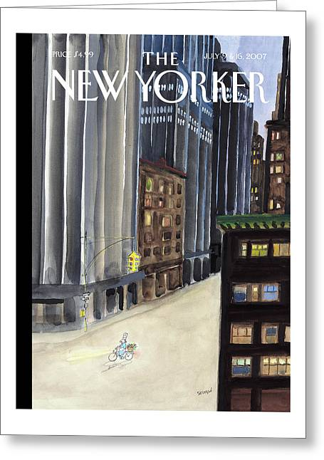 New Yorker July 9th, 2007 Greeting Card