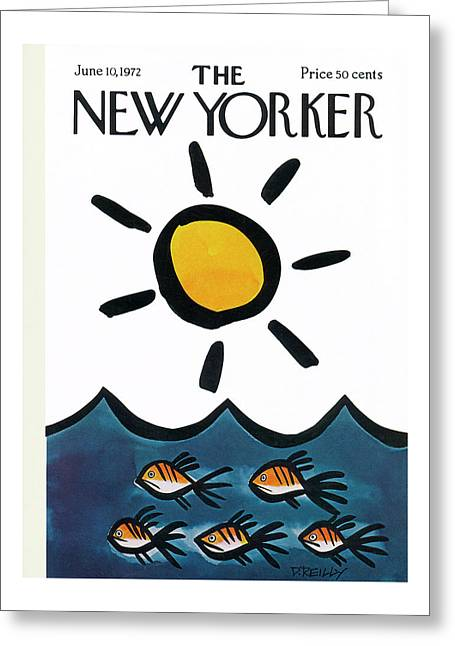 New Yorker June 10th, 1972 Greeting Card