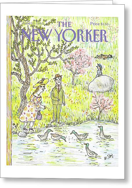 New Yorker June 10th, 1985 Greeting Card