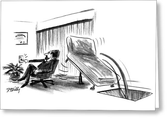 New Yorker June 10th, 1991 Greeting Card by Donald Reilly
