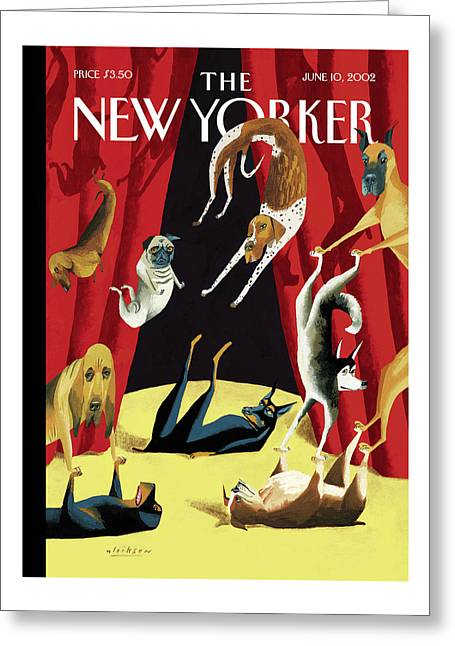 New Yorker June 10th, 2002 Greeting Card