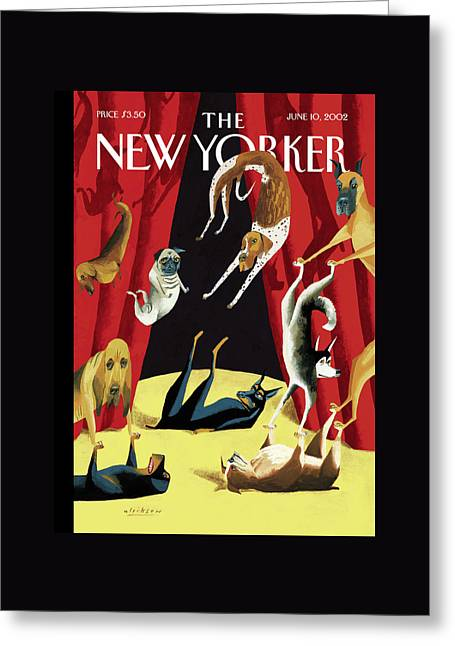 New Yorker June 10th, 2002 Greeting Card by Mark Ulriksen