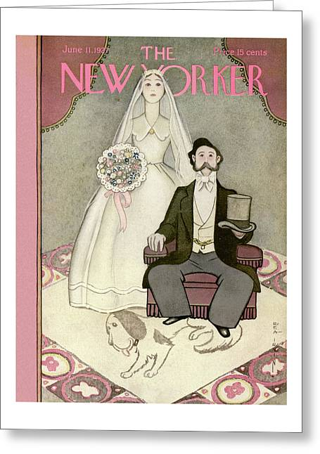 New Yorker June 11th, 1927 Greeting Card