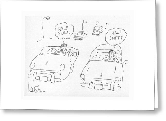New Yorker June 11th, 1979 Greeting Card