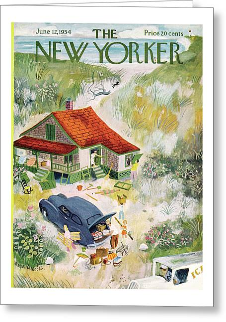 New Yorker June 12th, 1954 Greeting Card