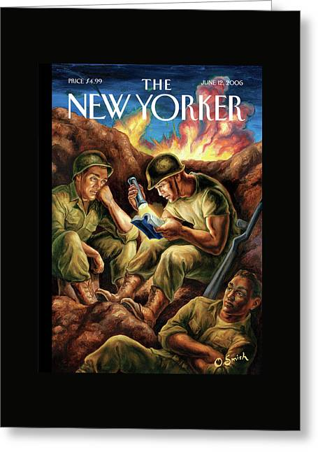 New Yorker June 12th, 2006 Greeting Card by Owen Smith