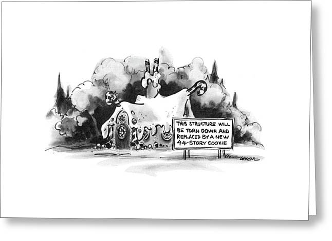 New Yorker June 13th, 1977 Greeting Card by Lee Lorenz