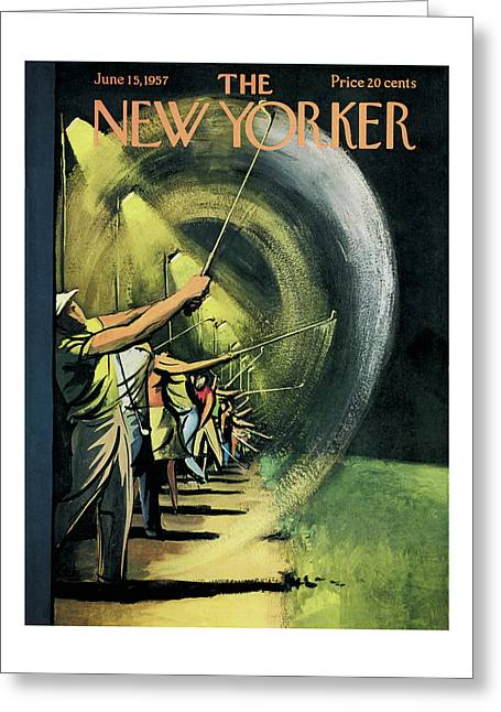 New Yorker June 15th, 1957 Greeting Card