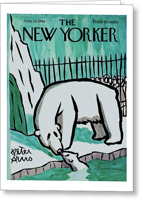New Yorker June 15th, 1968 Greeting Card