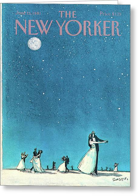 New Yorker June 15th, 1981 Greeting Card