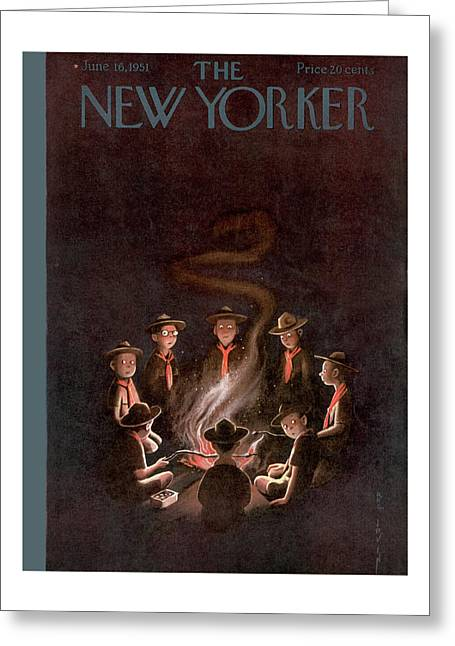 New Yorker June 16th, 1951 Greeting Card