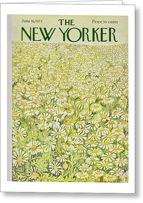 New Yorker June 16th 1973 Greeting Card