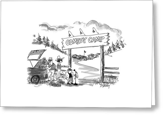 New Yorker June 16th, 1997 Greeting Card by Donald Reilly