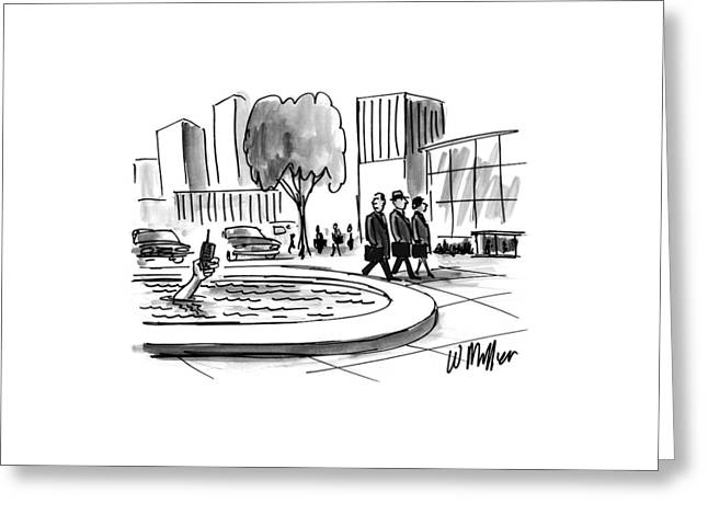 New Yorker June 16th, 1997 Greeting Card by Warren Miller