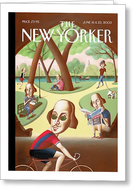 New Yorker June 16th, 2003 Greeting Card