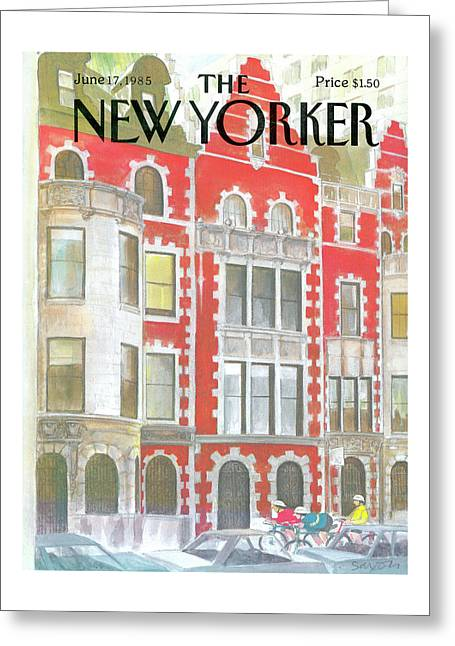 New Yorker June 17th, 1985 Greeting Card