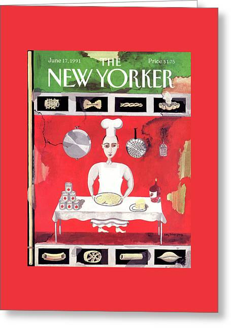 New Yorker June 17th, 1991 Greeting Card by Kathy Osborn