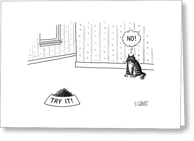 New Yorker June 17th, 1991 Greeting Card by Sam Gross