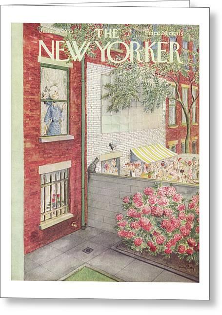 New Yorker June 18th, 1955 Greeting Card