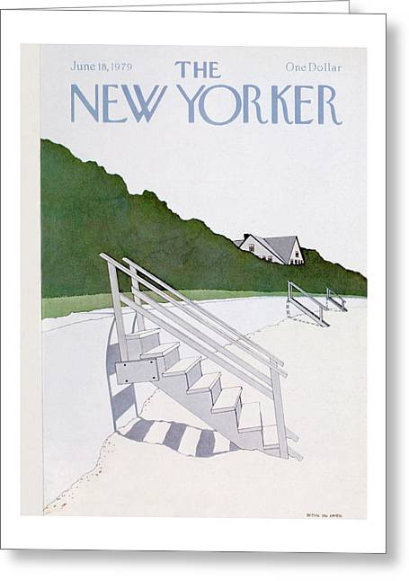 New Yorker June 18th, 1979 Greeting Card