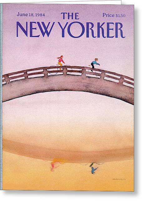 New Yorker June 18th, 1984 Greeting Card