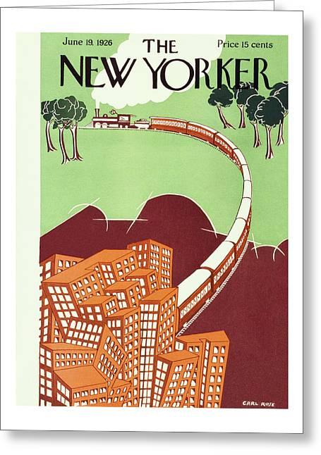 New Yorker June 19 1926 Greeting Card