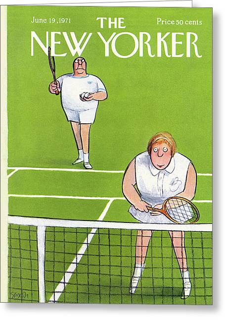 New Yorker June 19th, 1971 Greeting Card
