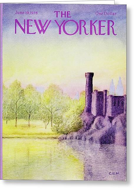 New Yorker June 19th 1978 Greeting Card