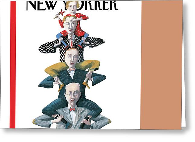 New Yorker June 19th, 1995 Greeting Card by Kathy Osborn