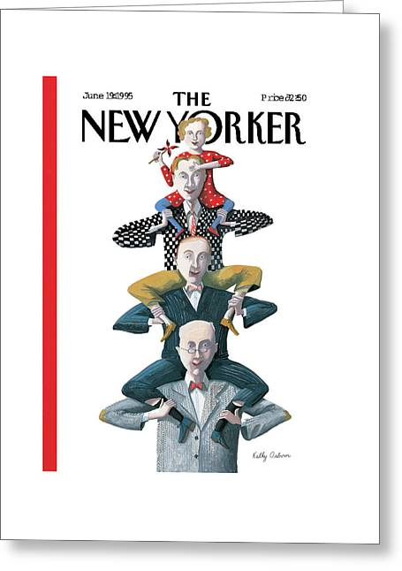 New Yorker June 19th, 1995 Greeting Card