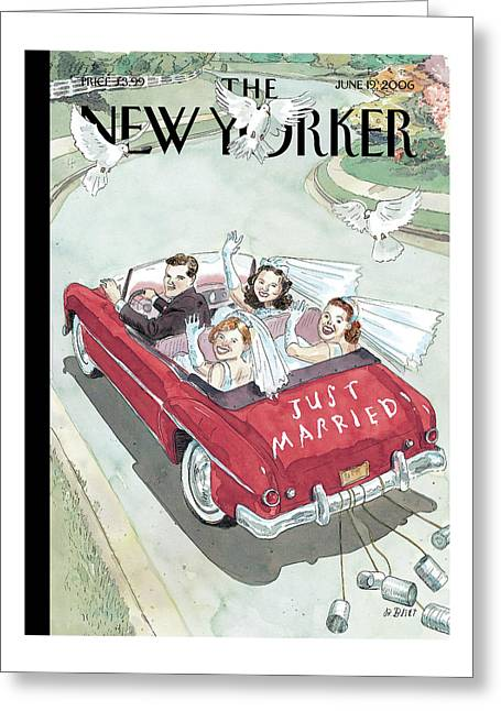 New Yorker June 19th, 2006 Greeting Card
