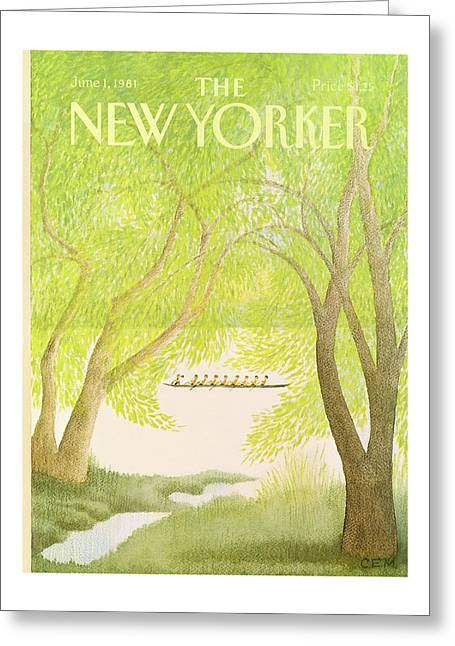 New Yorker June 1st, 1981 Greeting Card