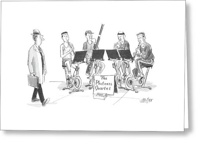 New Yorker June 1st, 1987 Greeting Card by Warren Miller