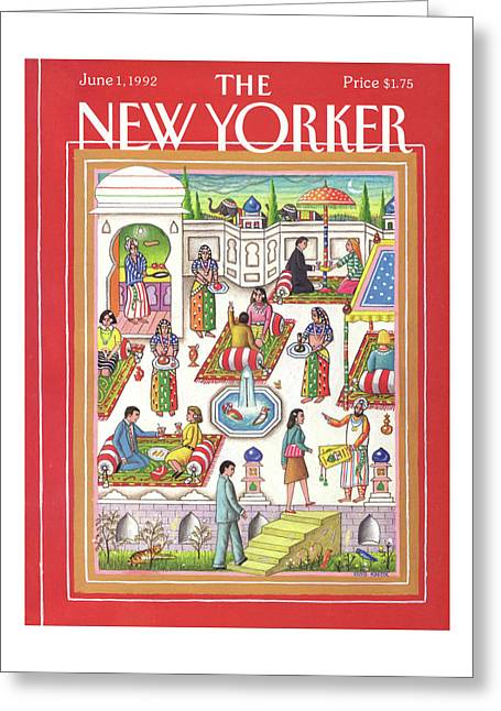 New Yorker June 1st, 1992 Greeting Card