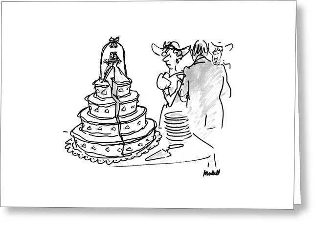 New Yorker June 1st, 1992 Greeting Card by Frank Modell