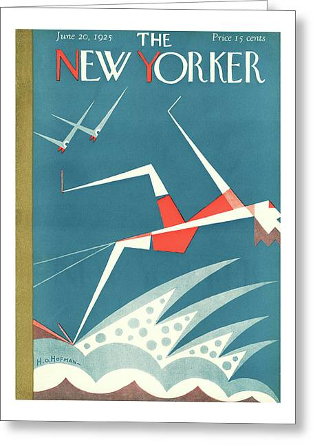New Yorker June 20th, 1925 Greeting Card