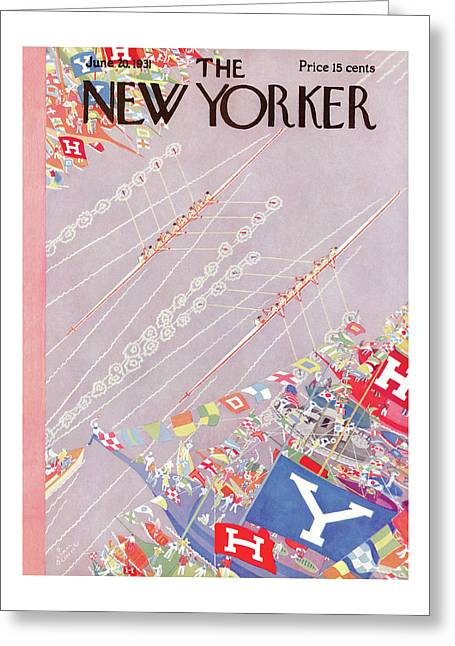 New Yorker June 20th, 1931 Greeting Card