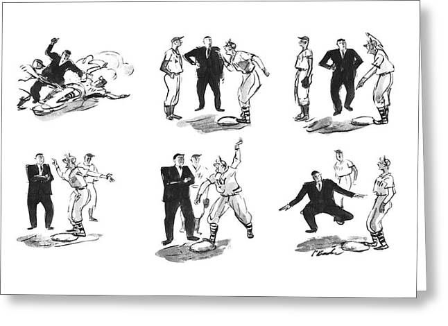 New Yorker June 21st, 1941 Greeting Card