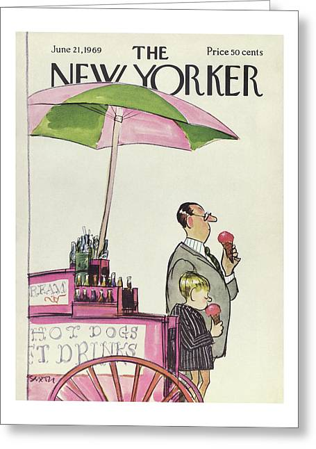 New Yorker June 21st, 1969 Greeting Card