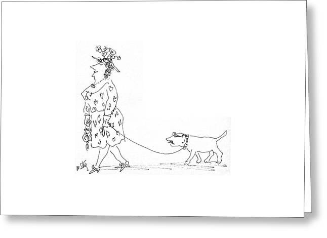 New Yorker June 21st, 1969 Greeting Card by William Steig