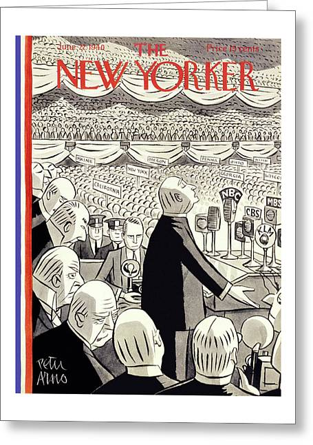 New Yorker June 22 1940 Greeting Card
