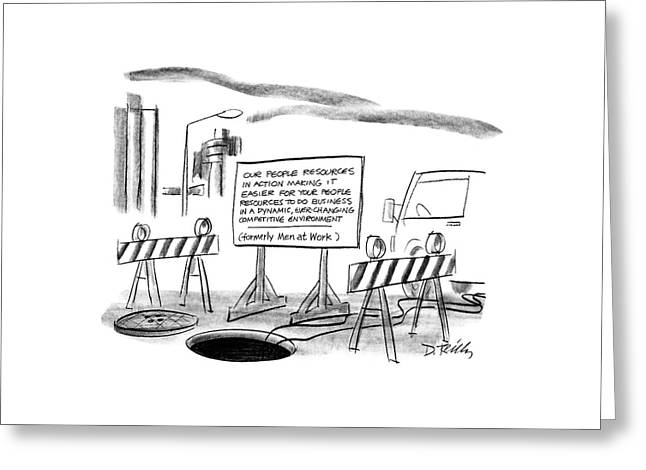 New Yorker June 22nd, 1987 Greeting Card by Donald Reilly