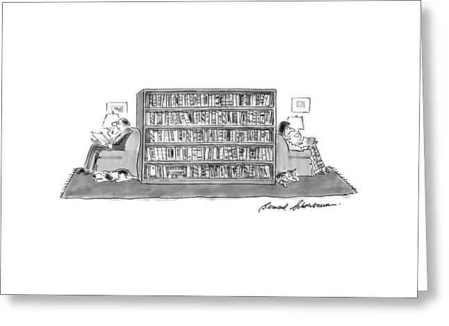 New Yorker June 22nd, 1998 Greeting Card by Bernard Schoenbaum
