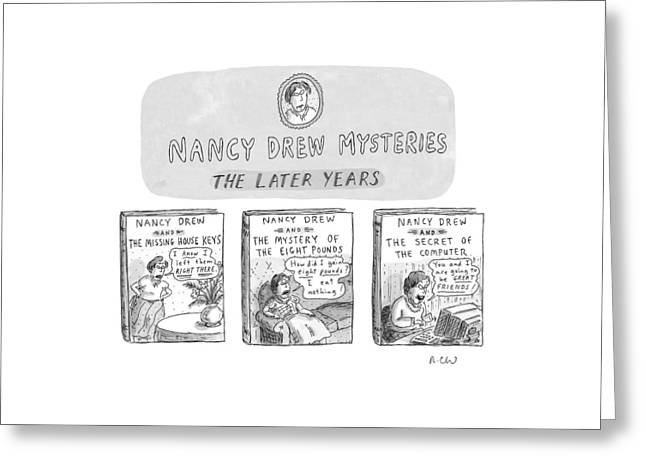 New Yorker June 22nd, 1998 Greeting Card by Roz Chast