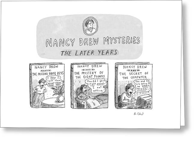 New Yorker June 22nd, 1998 Greeting Card