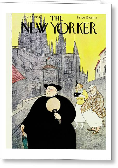 New Yorker June 23 1934 Greeting Card